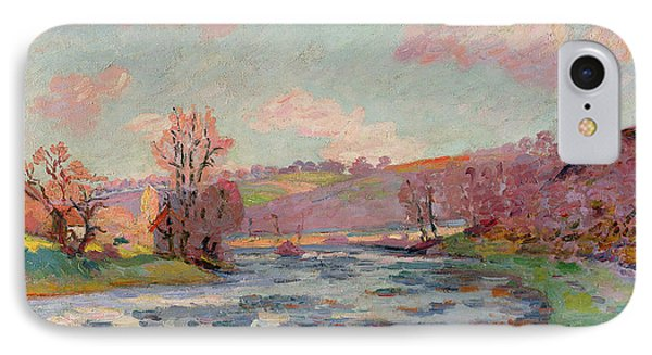 Banks Of The Creuse Phone Case by Jean Baptiste Armand Guillaumin