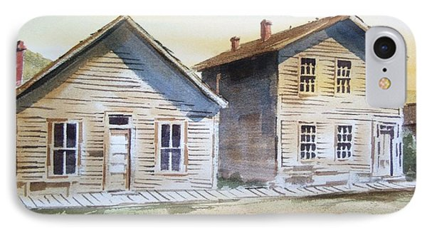 Bannack Ghost Town Montana Phone Case by Kevin Heaney