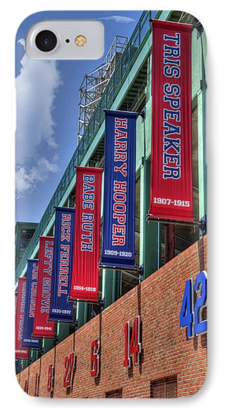 Banners Of Glory - Fenway Park - Boston IPhone Case