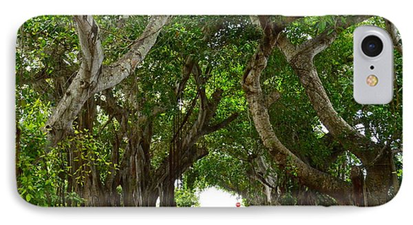 Banyan Street IPhone Case by Carol  Bradley