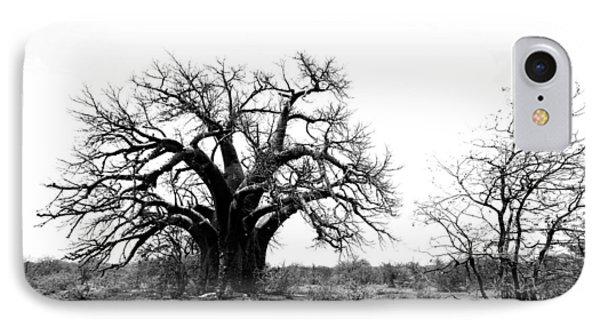 Baobab Landscape Phone Case by Bruce J Robinson