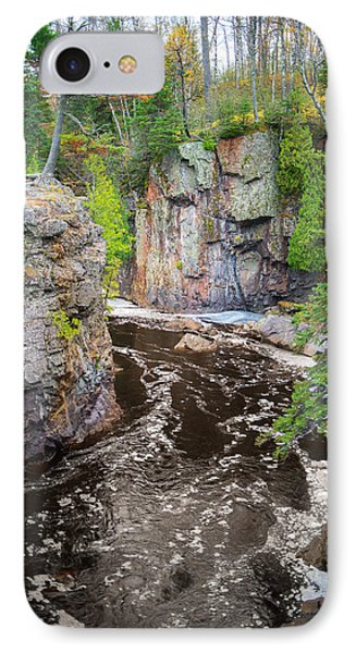 Baptism River In Tettegouche State Park Mn IPhone Case