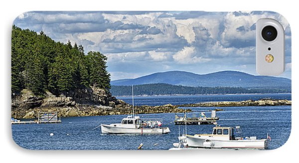 Bar Harbor Lobster Boats - Frenchman Bay IPhone Case