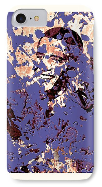 Barack Obama 44a IPhone Case by Brian Reaves