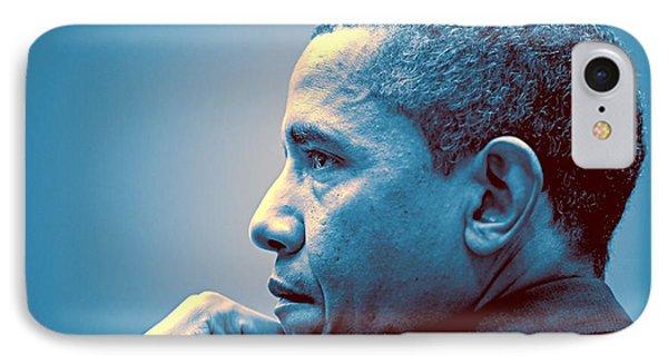 Barack Obama At White House 1 IPhone Case