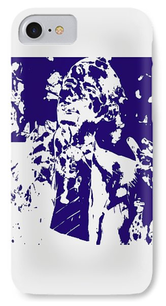 Barack Obama Paint Splatter 4a IPhone Case by Brian Reaves