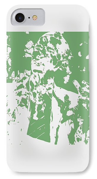 Barack Obama Paint Splatter 4c IPhone Case by Brian Reaves