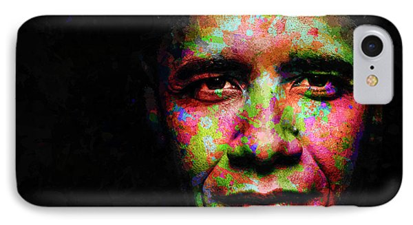 Barack Obama IPhone Case by Svelby Art