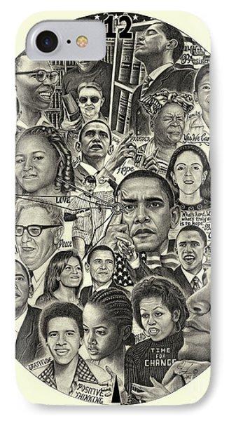 Barack Obama- Time For Change IPhone Case