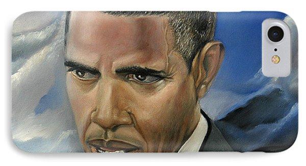 Barack Phone Case by Reggie Duffie