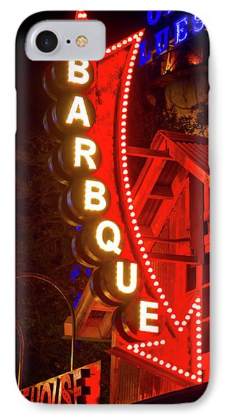 IPhone Case featuring the photograph Barbeque Smokehouse by Mark Andrew Thomas