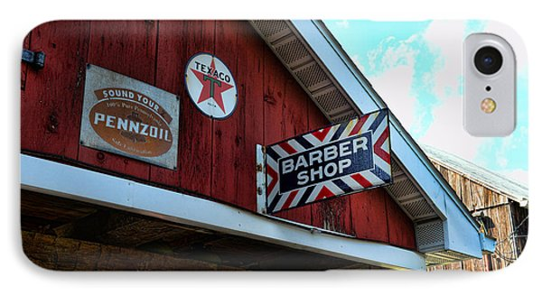 Barber - Old Barber Shop Sign Phone Case by Paul Ward