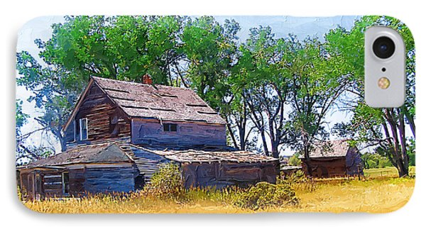 IPhone Case featuring the photograph Barber Homestead by Susan Kinney