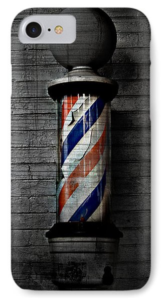 Barber Pole Blues  IPhone Case by Jerry Cordeiro