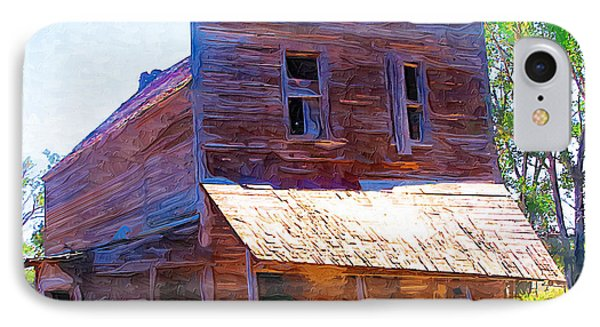 IPhone Case featuring the photograph Barber Store by Susan Kinney