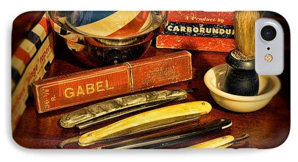 Barber - Vintage Barber Phone Case by Paul Ward