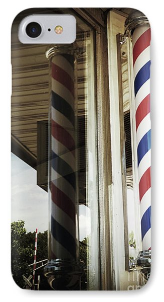 Barbershop Pole IPhone Case