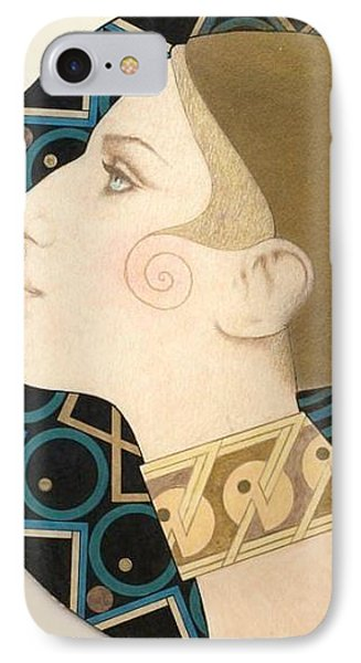 Barbra Phone Case by Richard Laeton
