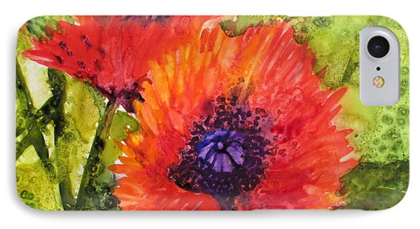 Barbs Poppies IPhone Case