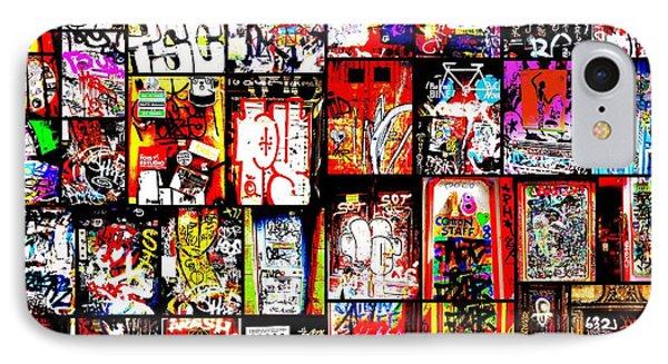 Barcelona Doors  Phone Case by Funkpix Photo Hunter