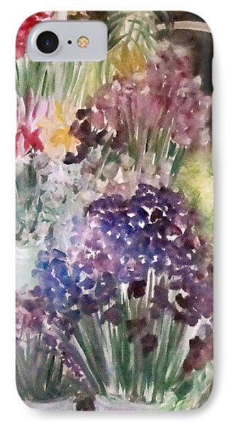 Barcelona Flower Mart IPhone Case