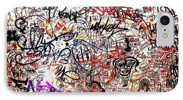 Barcelona Graffiti Heaven IPhone Case