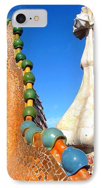 Barcelona Impression 1 Phone Case by Ana Maria Edulescu