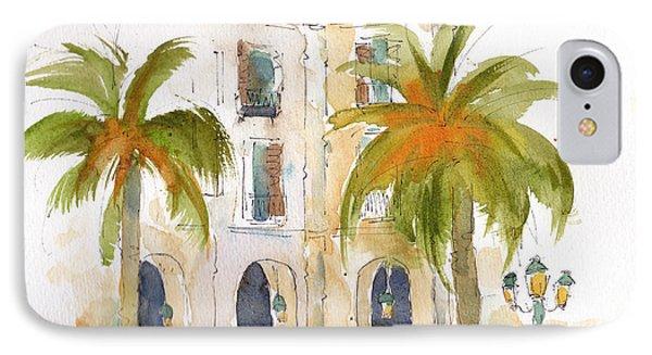 Barcelona Plaza IPhone Case