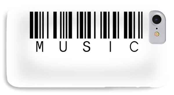 Barcode Music IPhone Case by Steffi Louis