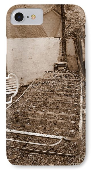 IPhone Case featuring the photograph Bare Bones Miners Camp by Marie Neder