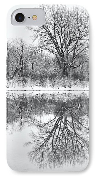 IPhone Case featuring the photograph Bare Trees by Darren White