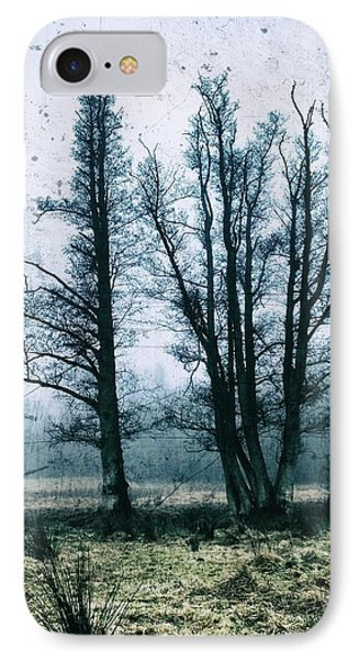 Bare Winter Trees IPhone Case by Karen Stahlros