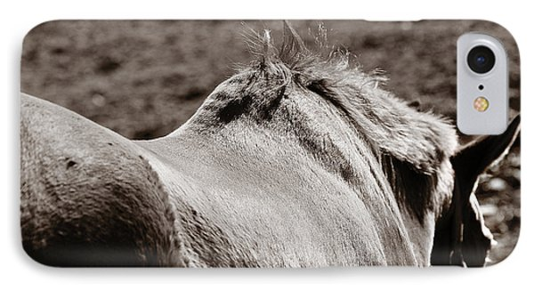 IPhone Case featuring the photograph Bareback by Angela Rath