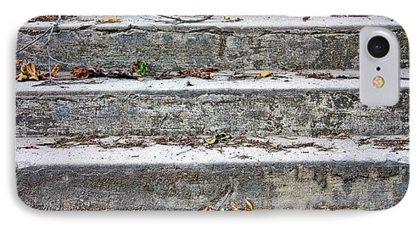 IPhone Case featuring the photograph Barge Town Grocery Steps by KayeCee Spain