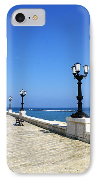 Bari Waterfront IPhone Case by Rob Tullis