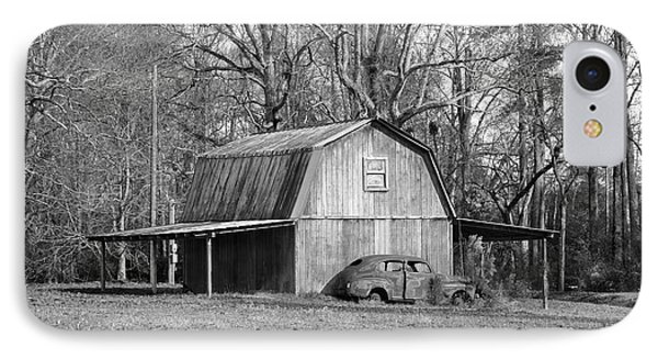 IPhone Case featuring the photograph Barn 2 by Mike McGlothlen