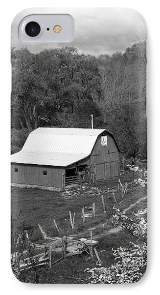 IPhone Case featuring the photograph Barn 3 by Mike McGlothlen