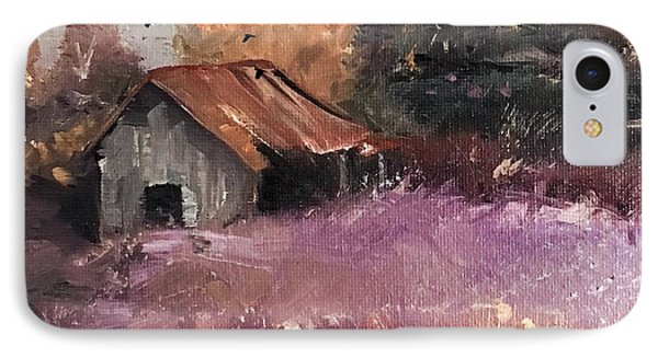 Barn And Birds  IPhone Case