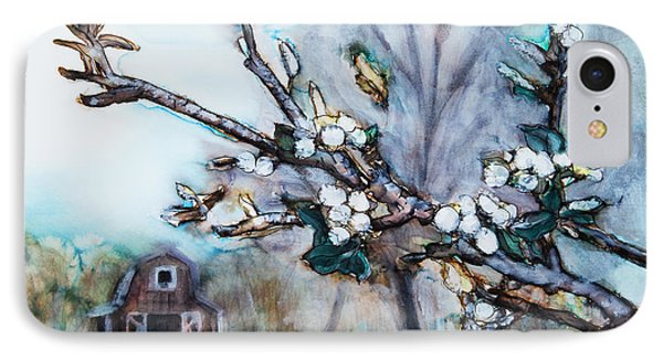 Barn And Blossoms Phone Case by Tara Thelen