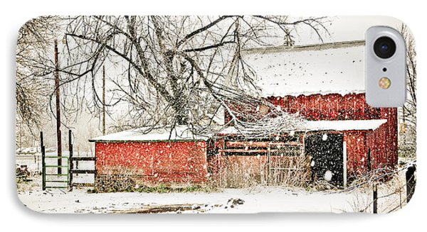 Barn And Pond Phone Case by Marilyn Hunt