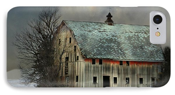 Barn And Sundog IPhone Case by Kathy M Krause