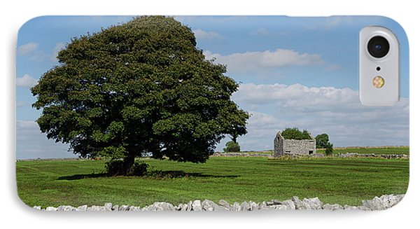 Barn And Tree Phone Case by Steev Stamford