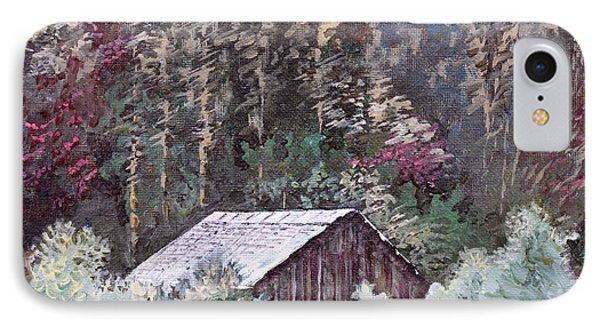 Barn At Cades Cove Phone Case by Todd A Blanchard