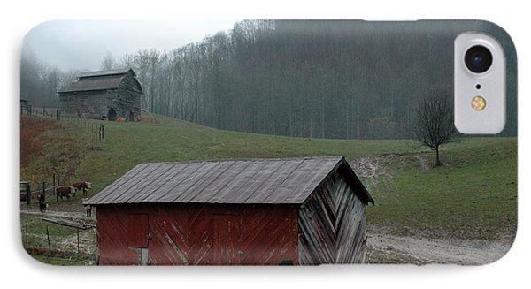 Barn At Stecoah Phone Case by Kathy Schumann
