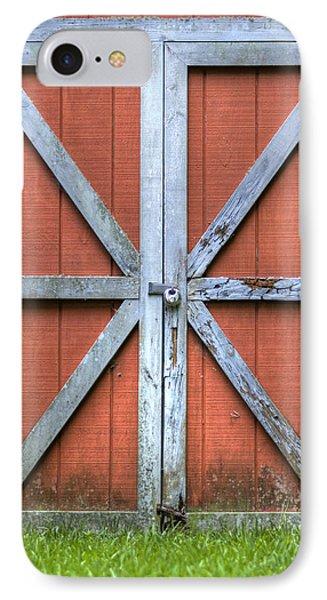 Barn Door 3 Phone Case by Dustin K Ryan