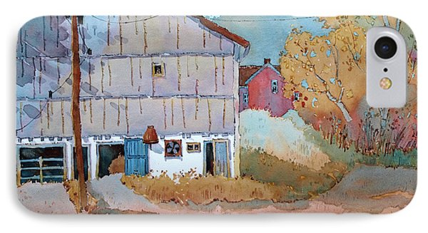 Barn Door Whimsy IPhone Case by Joyce Hicks