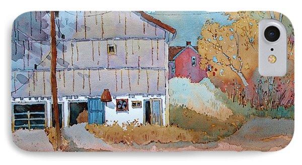 Barn Door Whimsy IPhone Case