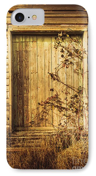 Barn Doors And Hanging Vines IPhone Case