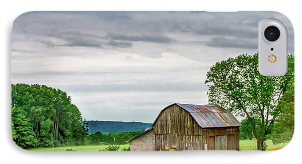 Barn In Bliss Township IPhone Case by Bill Gallagher