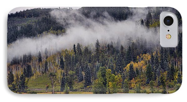 Barn In The Mist IPhone Case